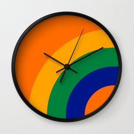 Citrus Bow Wall Clock