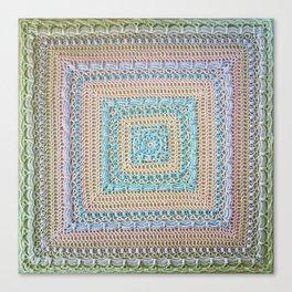 Timeless Crochet Canvas Print