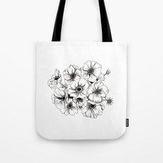 Anemones Bouquet Tote Bag