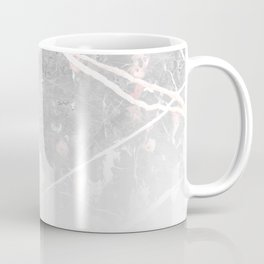 Pastel Pink & Grey Marble - Ombre Coffee Mug