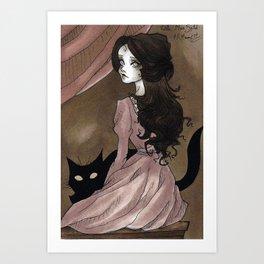 Little Miss Sybil Art Print