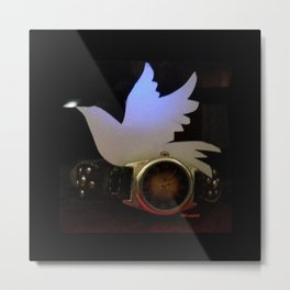 Time For Peace On Earth Metal Print