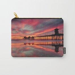Huntington Beach Sunset  ~ 1/15 Carry-All Pouch
