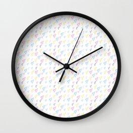 Symbol of Transgender 72 multicolor Wall Clock