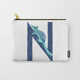 N is for Numbat Letter Alphabet Decor Design Art Pattern Carry-All Pouch