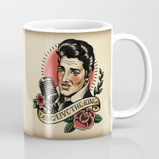 Long Live The King / Elvis Coffee Mug