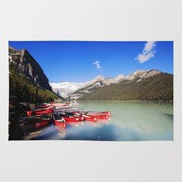 Lake Louise in Alberta, Canada Rug