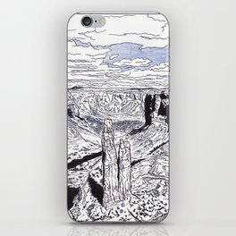In the Grand Canyon iPhone Skin