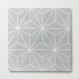 Geometric Vibes Metal Print