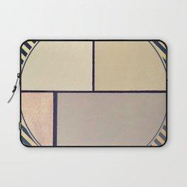 Toned Down- navy stripe Laptop Sleeve