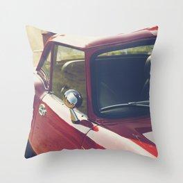 Triumph Spitfire, British sportscar details, English car Throw Pillow