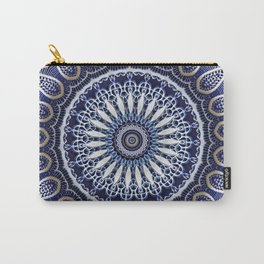 China Blue Carry-All Pouch