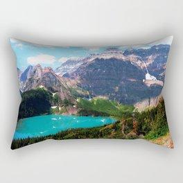 Leaving the magical passage Rectangular Pillow