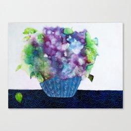 Purple Flowers I Canvas Print