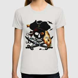 Fishing with a Florida Pirate T-shirt