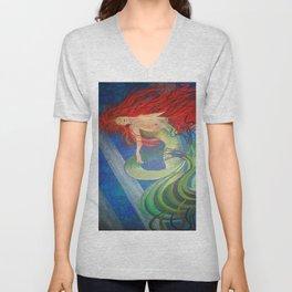 Enchanted Mermaid Unisex V-Neck