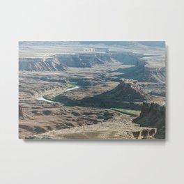 Green river in Canyonlands Metal Print