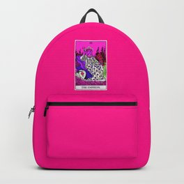 3. The Empress- Neon Dreams Tarot Backpack