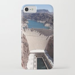 Hoover Dam Aerial View iPhone Case