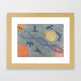 The Escape. Framed Art Print