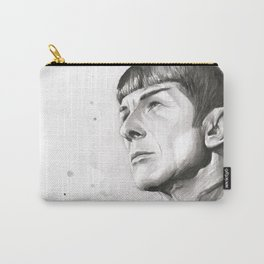 Star Trek Spock Portrait Carry-All Pouch