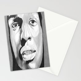 Dopeness (Black and White) Stationery Cards