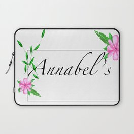 Names.Personalised gift ideas.Annabel Laptop Sleeve