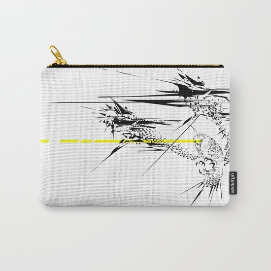 Holy Weapon // (Glitch Owl) Carry-All Pouch