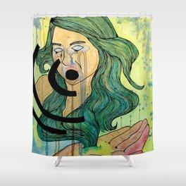 her Sound Shower Curtain