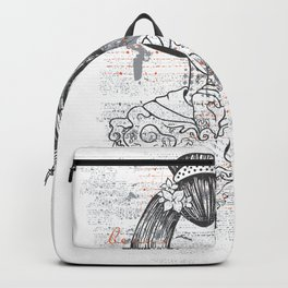 Grungy Geisha Geiko Geigi Backpack