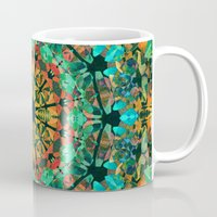 kaleidoscope Mugs featuring Kaleidoscope by Klara Acel