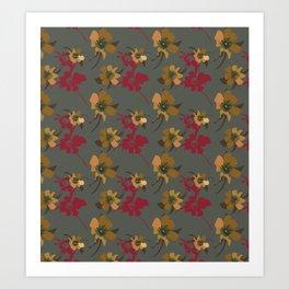 Camellia Riches. Art Print