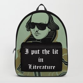 Shakespeare I Put the Lit in Literature Backpack