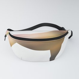 Horse - Two - Brown Fanny Pack