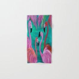 Love My Flamingos Hand & Bath Towel