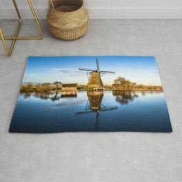Windmill in the Netherlands Rug