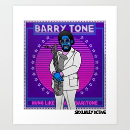 Barry Tone Art Print
