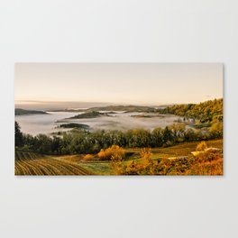 Sunrise in the Willamette Valley Canvas Print