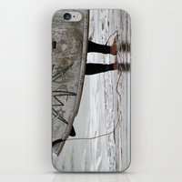surfboard iPhone & iPod Skins featuring Surfboard 2 by Becky Dix