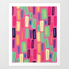 Square Mica Art Print