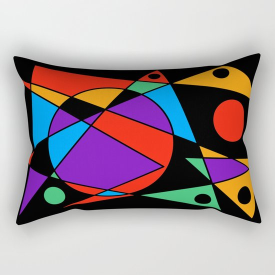Abstract #85 Rectangular Pillow