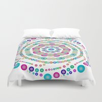 chemistry Duvet Covers featuring Chemistry fun by Mi Nu Ra