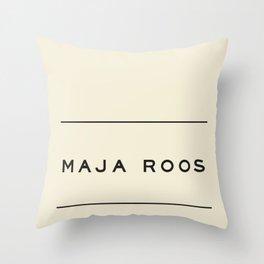 for Maja Throw Pillow