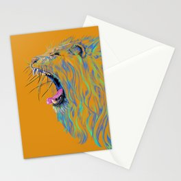 Yell ow Lion Stationery Cards