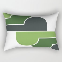 Olive Skies Rectangular Pillow