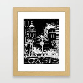 Urban Oasis Framed Art Print