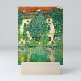 "Gustav Klimt ""Schloss Kammer on the Attersee"" III. Mini Art Print"