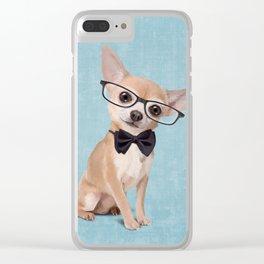 Mr. Chihuahua Clear iPhone Case