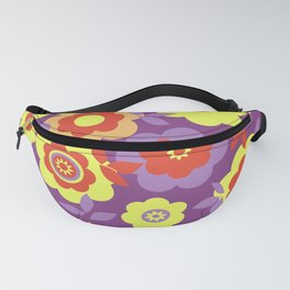 Eilin's Spring Flowers 20 Fanny Pack