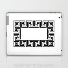 Greek Key black Laptop & iPad Skin